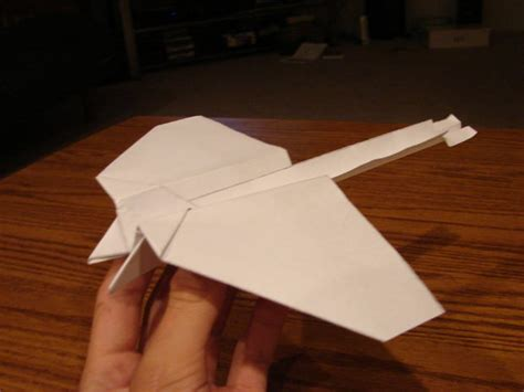 Origami Stunt Plane - paper projects