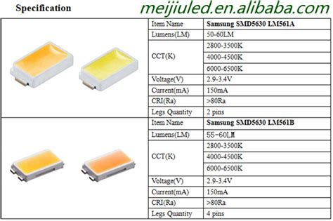 Led Smd 5730 55 65lm White 6000 7000k high quality 5730 chip samsung 5630 led smd plcc4 7000k