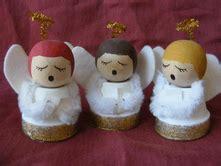 palline di legno per teste angeli decorazioni fai da te per natale gli angeli blogmamma