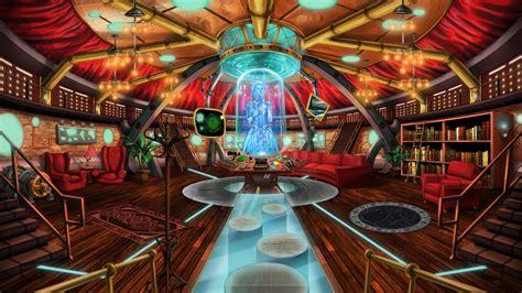 doctor   steampunk tardis interior