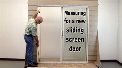How To Measure For A Door by How To Measure For A New Sliding Screen Door