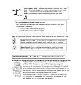 Musical Notes Template by Sle Musical Note Template 9 Free Documents In Pdf Word