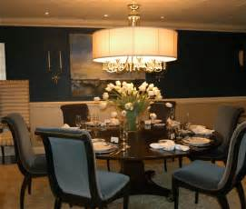 Traditional dining room ideas round table design samples photos