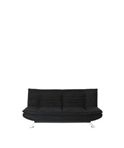 Black Fabric Sofa Bed Sorbet Fabric Sofa Bed Black Sofas Sofas Sofa Beds