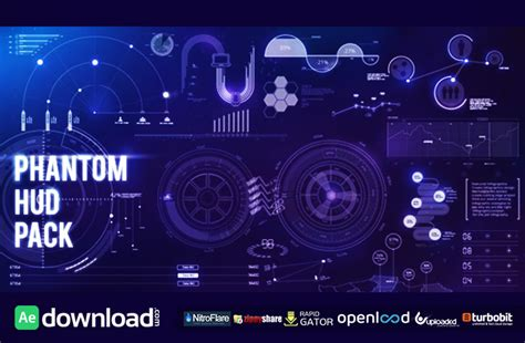 after effects template free phantom hud infographic phantom hud infographic motion graphic videohive