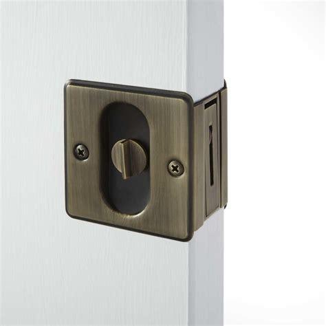 nestore pocket door pull set passage privacy hardware