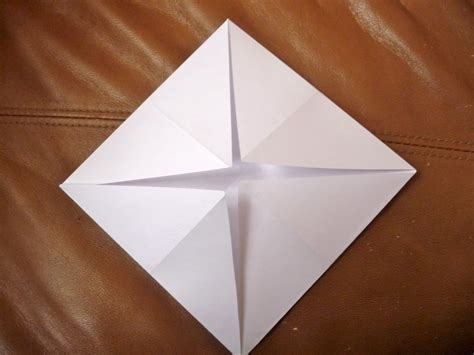 Fold Paper Into Triangle - teaching your middle schooler lesson plan twelve