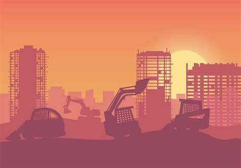 Flat Layout Design Free Construction Background Vector Download Free Vector