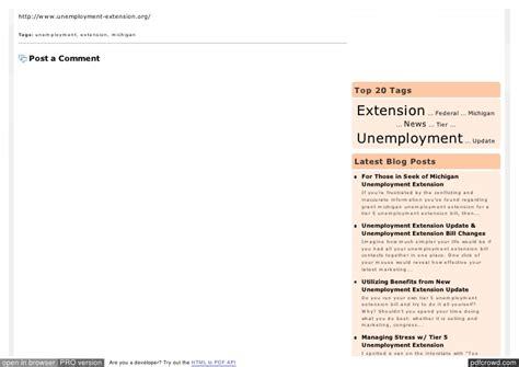 unemployment mi extension tn unemployment extension update unemployment extension vote