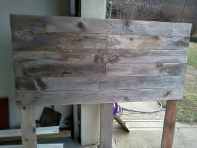 Barn Board Headboard Diy Barnwood Headboard The Domesticated Megan