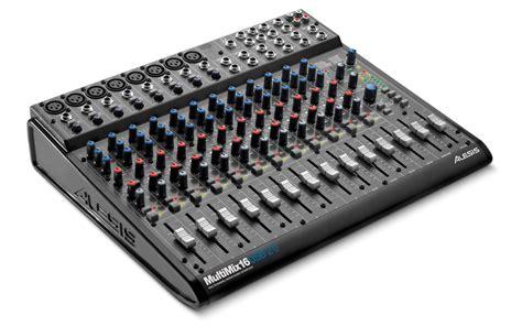 Equaliser Audio Mixer Power 3box alesis multimix 16 usb 2 0 consola m 218 sica