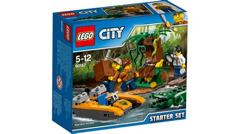 lego city jungle boat 60157 jungle starter set lego 174 city products and sets