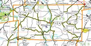 Holmes County Ohio Map by Pages County