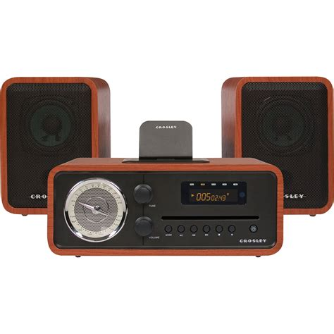 best cd radio crosley radio audiophile shelf system with am fm cr3012a