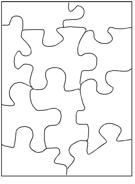 best 25 puzzle piece template ideas on pinterest puzzel