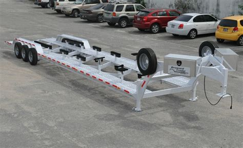 boat transport pictures broward trailer new trailers