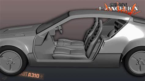 renault alpine a310 interior alpine a310 evangelion edition wip interior by gekkogwn