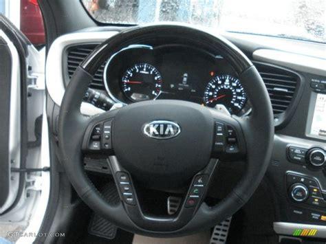 2013 Kia Optima Steering Problems 2013 Kia Optima Sx Limited Black Steering Wheel Photo