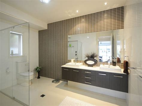 feature tiles bathroom ideas modern bathroom design with built in shelving using