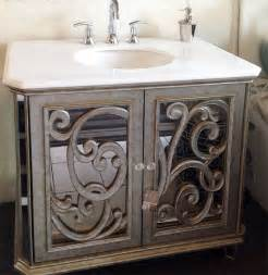 mirrored bathroom vanities antiqued mirrored bathroom vanity ba948533