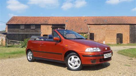 fiat punto 1997 1997 fiat punto 1 2 16v elx bertone cabriolet for sale