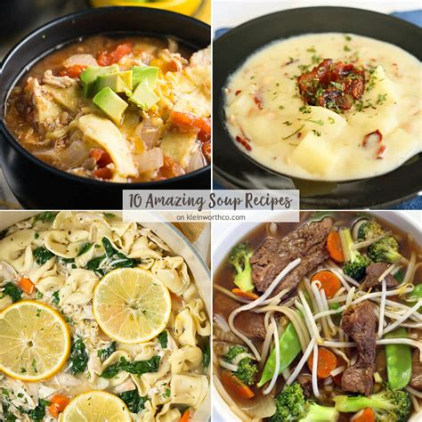 10 amazing soup recipes create link inspire 164 kleinworth co