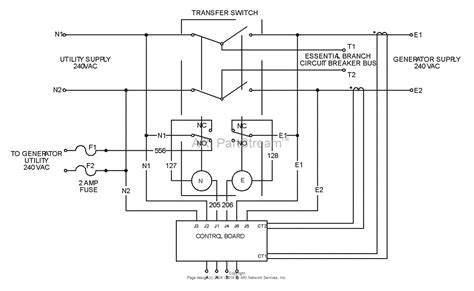asco automatic transfer switch wiring diagram home