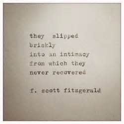 Love Quotes F by F Scott Fitzgerald Love Quote Made On Typewriter
