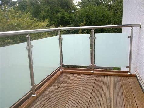 balkongeländer edelstahl balkongel 228 nder edelstahl vsg glas balkon gel 228 nder ebay