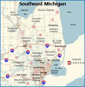 Southeast Michigan Map by Climbing My Family Tree 52 Ancestors 50 Anna Mae