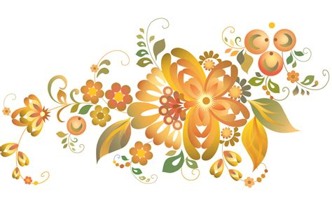 pattern flowers vector beautiful flower pattern vector free vector 4vector