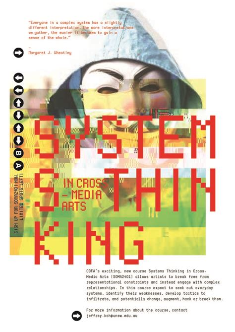 design thinking course sydney system thinking poster design karinaue