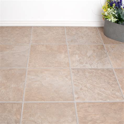 laminate tile flooring bathroom laminate flooring beige slate tile effect