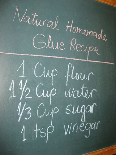 How To Make Paper Mache Glue At Home - glue recipe photo published on sustainableecho