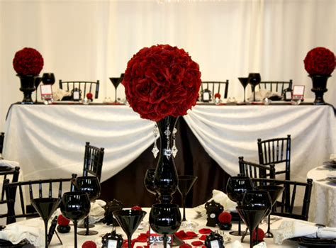 wedding themes red black and white tbdress blog a dream come true with a black white red