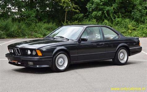 bmw 635 csi 1989 bmw 635 csi only cabrios