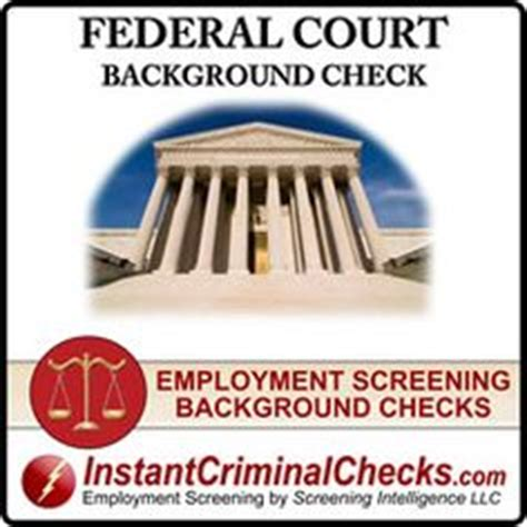 National Instant Background Check Apostille Federal Criminal Background Checks On
