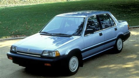 86 honda civic 1980s an era never remembered for the variety of cars