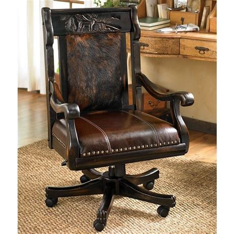 Cowhide Office Chair - 123 best images about truelly western furniture on