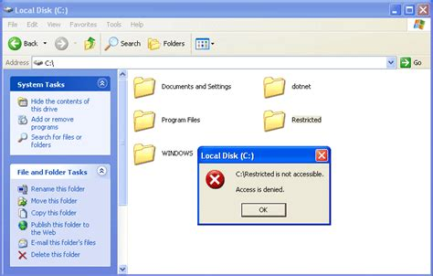 configure xp external access how to fix inaccessible hard drives access is denied