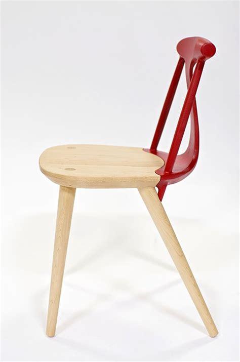 esszimmerstühle aus holz moderne esszimmerst 252 hle aus holz mit r 252 ckenlehne rot