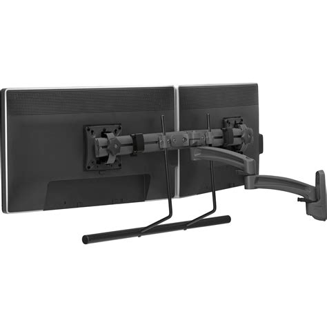 swing monitor chief k2w22hb kontour k2w dual monitor wall mount swing