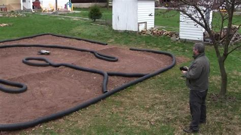 backyard rc track ideas how to make a backyard rc car track tips and techniques