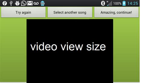 android layout aspect ratio android stretch to fill videoview aspect ratio of vidoeview