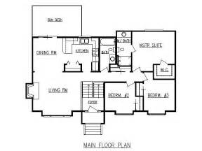 split floor plan design lines inc plan 1728 split level