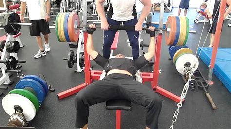 correct way to bench erik cad 233 e in de vs zijn wl worp pr en 190kg bankdrukken