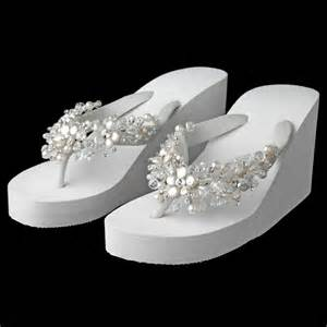 With crystal amp freshwater coin pearl accents bridal wedding shoes
