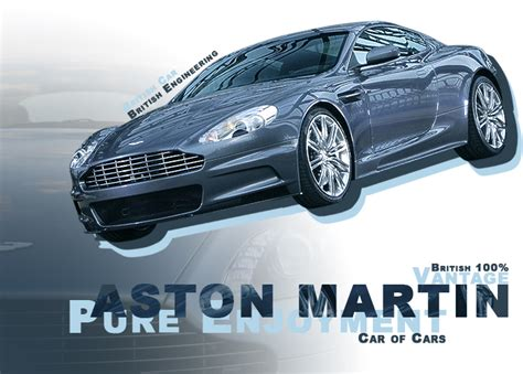 aston martin poster by demoncloud on deviantart