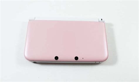 nintendo handheld 3ds xl pink nintendo 3ds xl system pink white