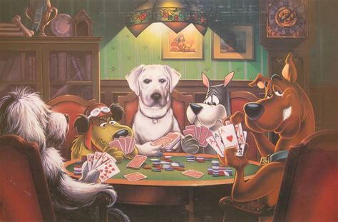 painting scooby doo scooby doo dogsplayingpoker org